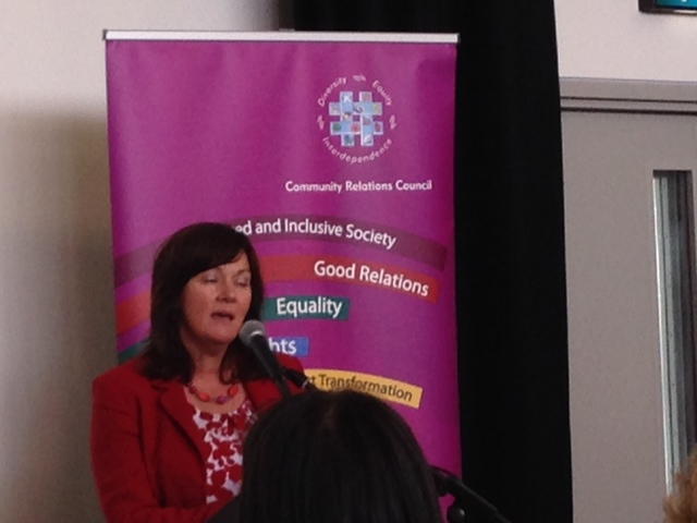 Junior Minister, Jennifer McCann, wishes the Council well for the week